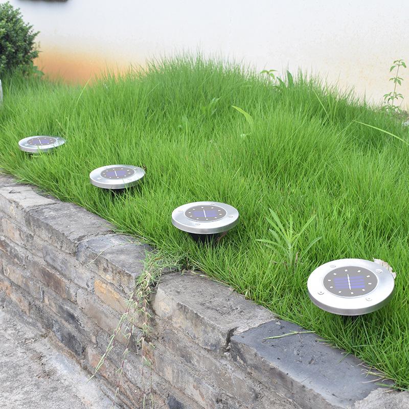 Luminaires marque generique Solaire LED chemin extérieur lumière spot lampe cour jardin pelouse paysage étanche